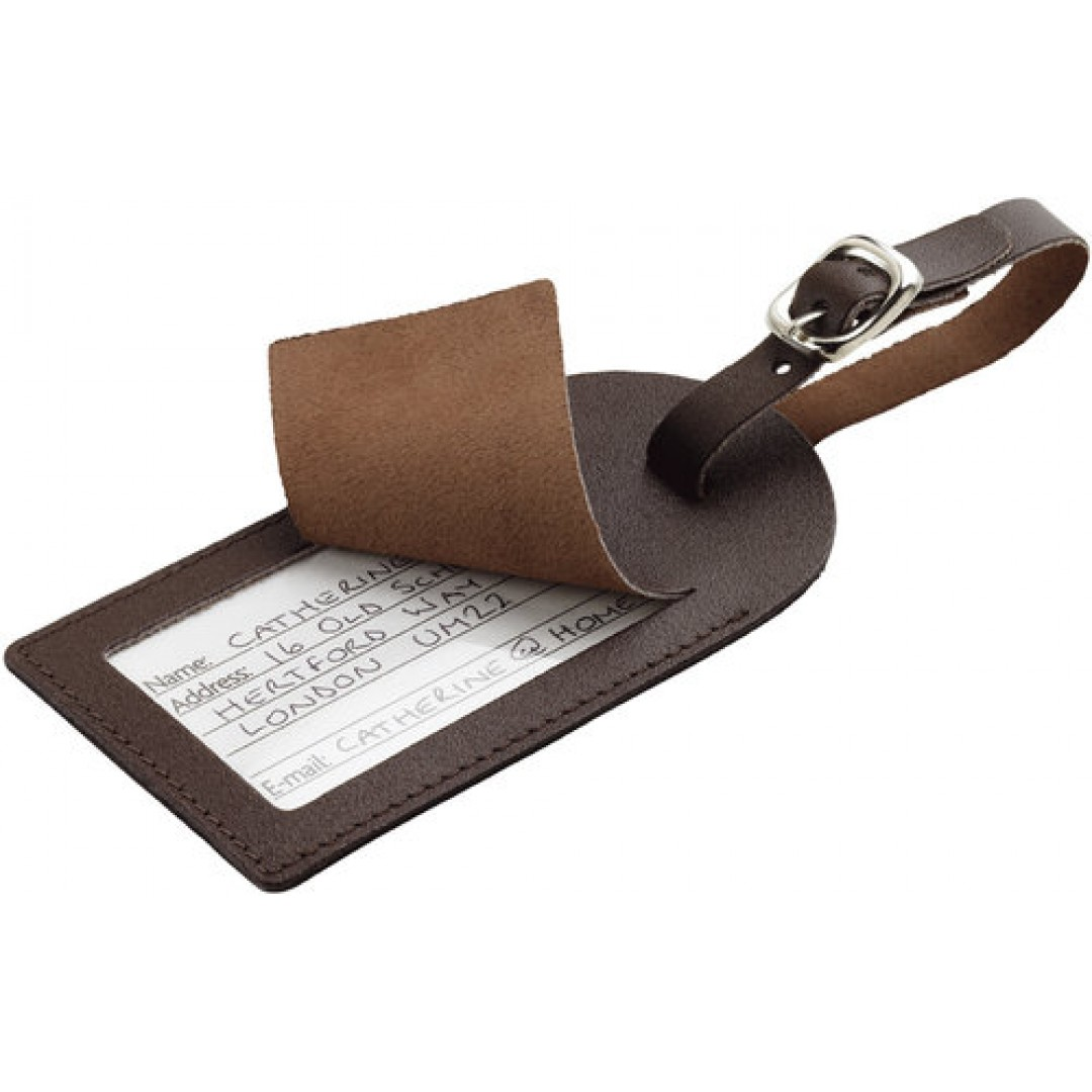 Leather luggage tag Go Travel | 159