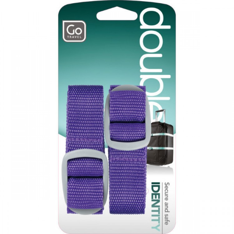 Safety luggage straps Twin pack | Go Travel