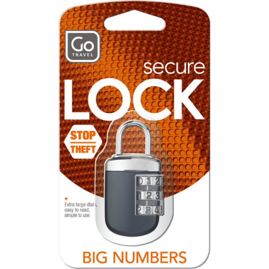 Case lock Big Wheel | Go Travel