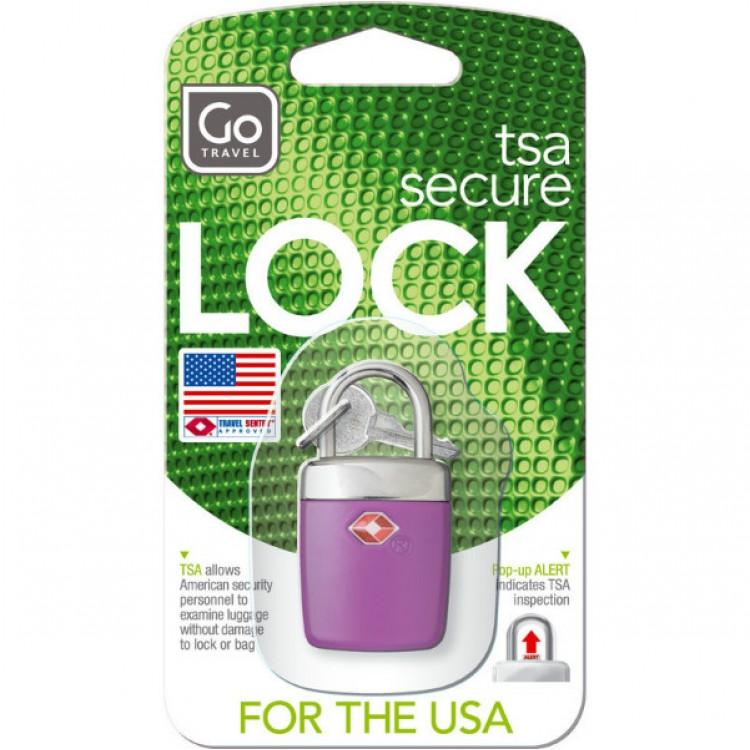 Vorhängeschloss TSA mit Schlüssel | Go Travel