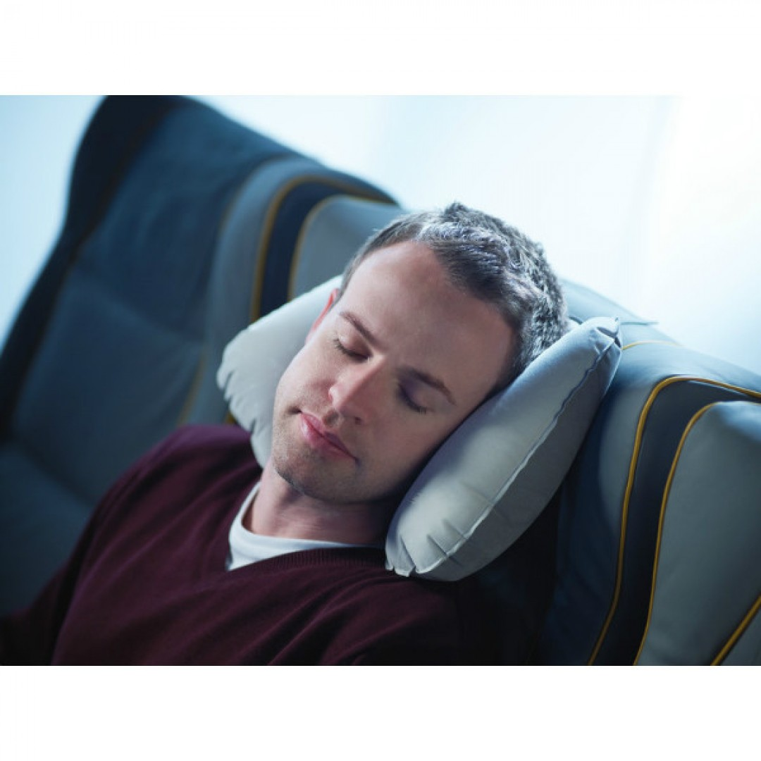 Patented inflatable travel pillow | Go Travel