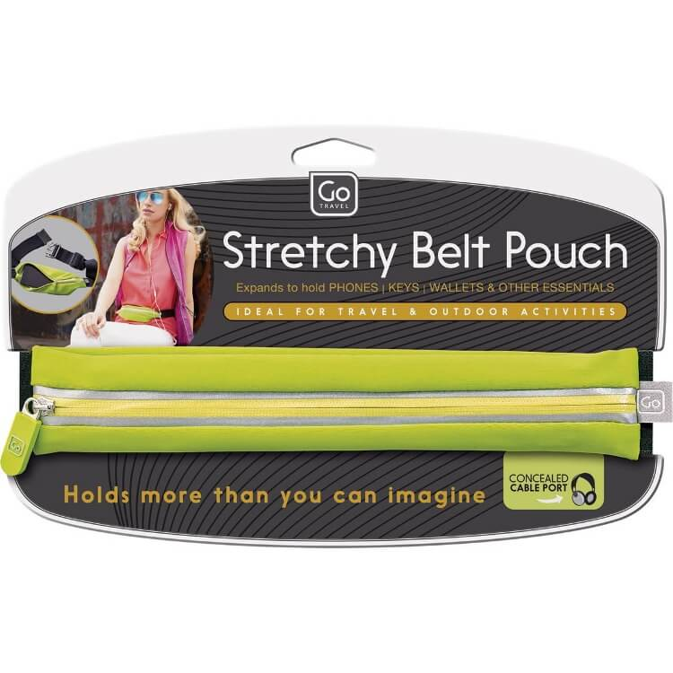 Stretchy Belt Pouch | Go Travel