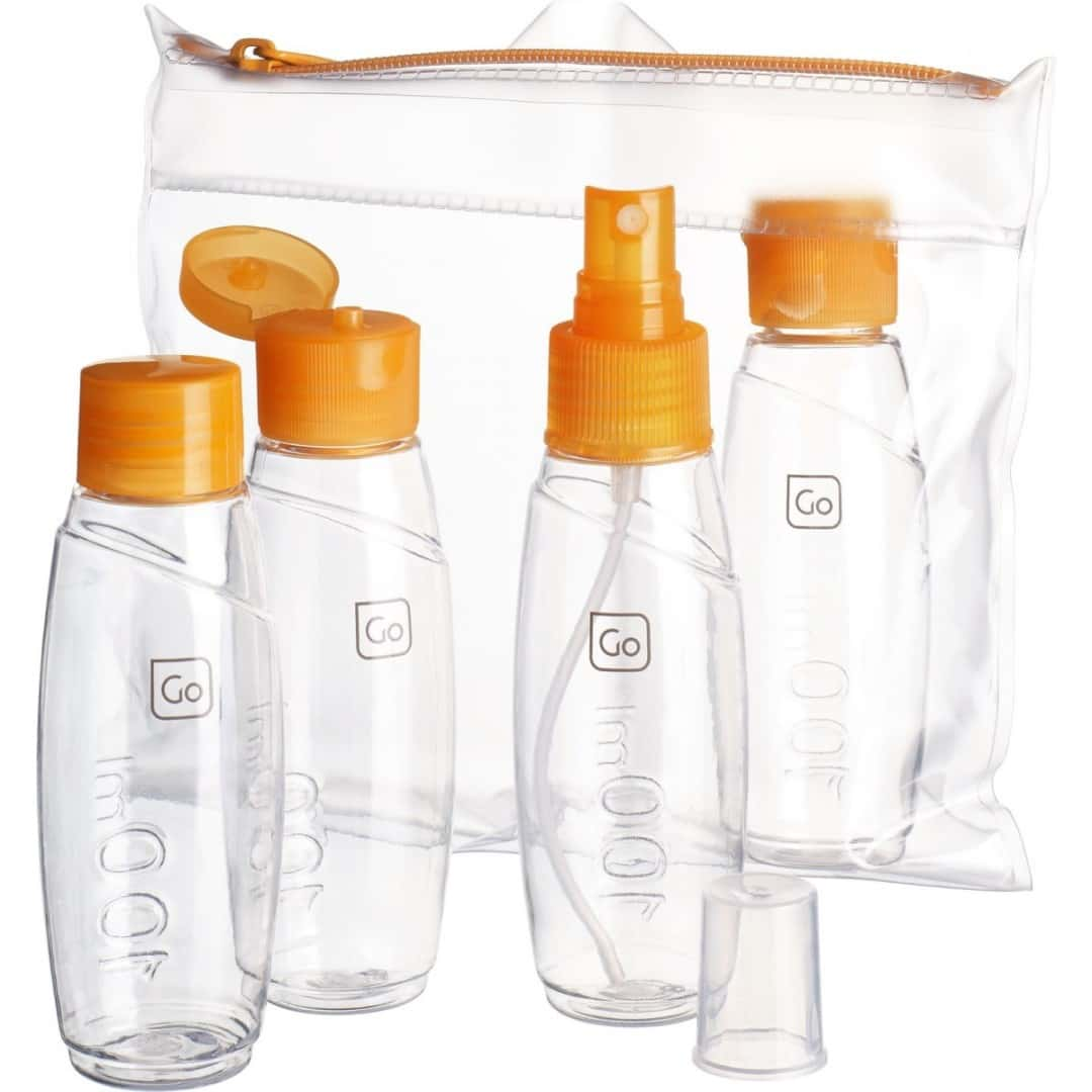 Pack Kit 4 Flaschen 100 ml | Go Travel