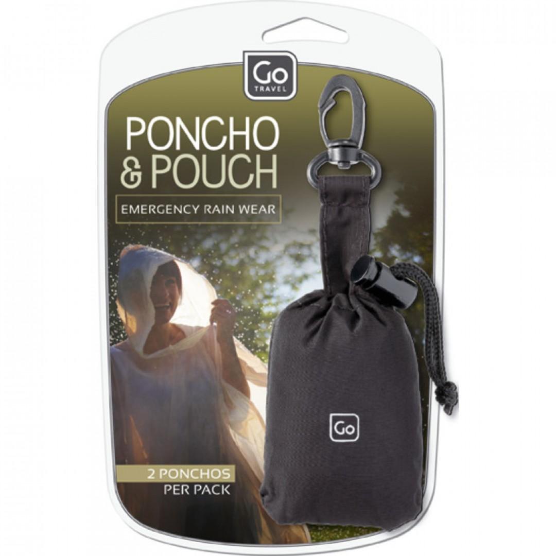 Poncho & Pouch | Go Travel
