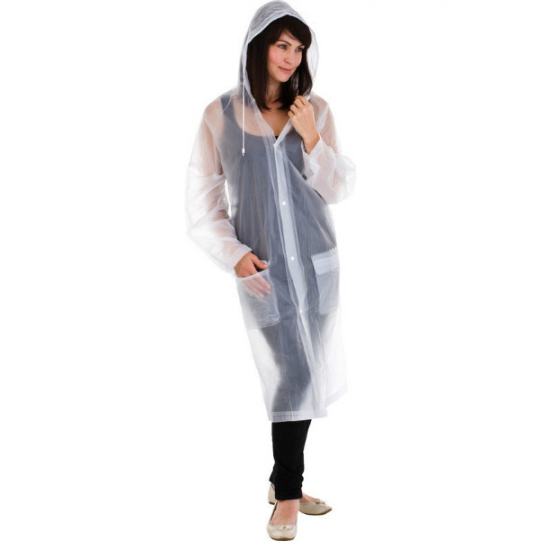 Travel raincoat with hood | Go Travel