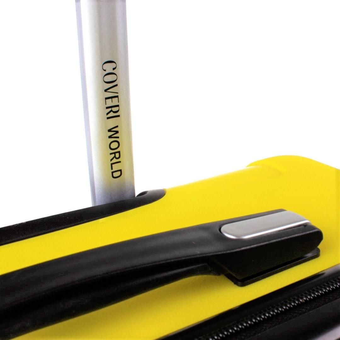 Hardside travelling luggage medium Coveri World | Exclusive