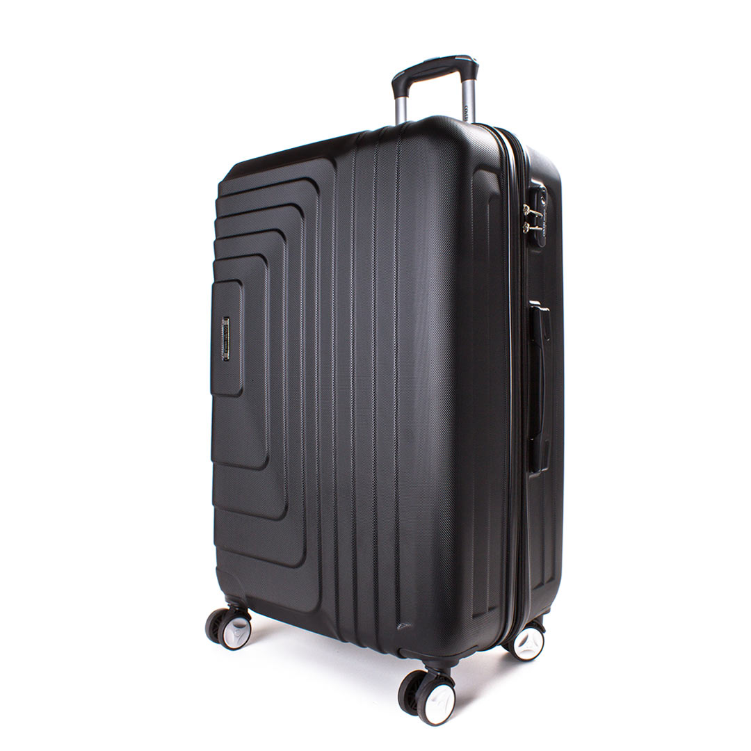 Hardside travelling luggage medium Coveri World | Style