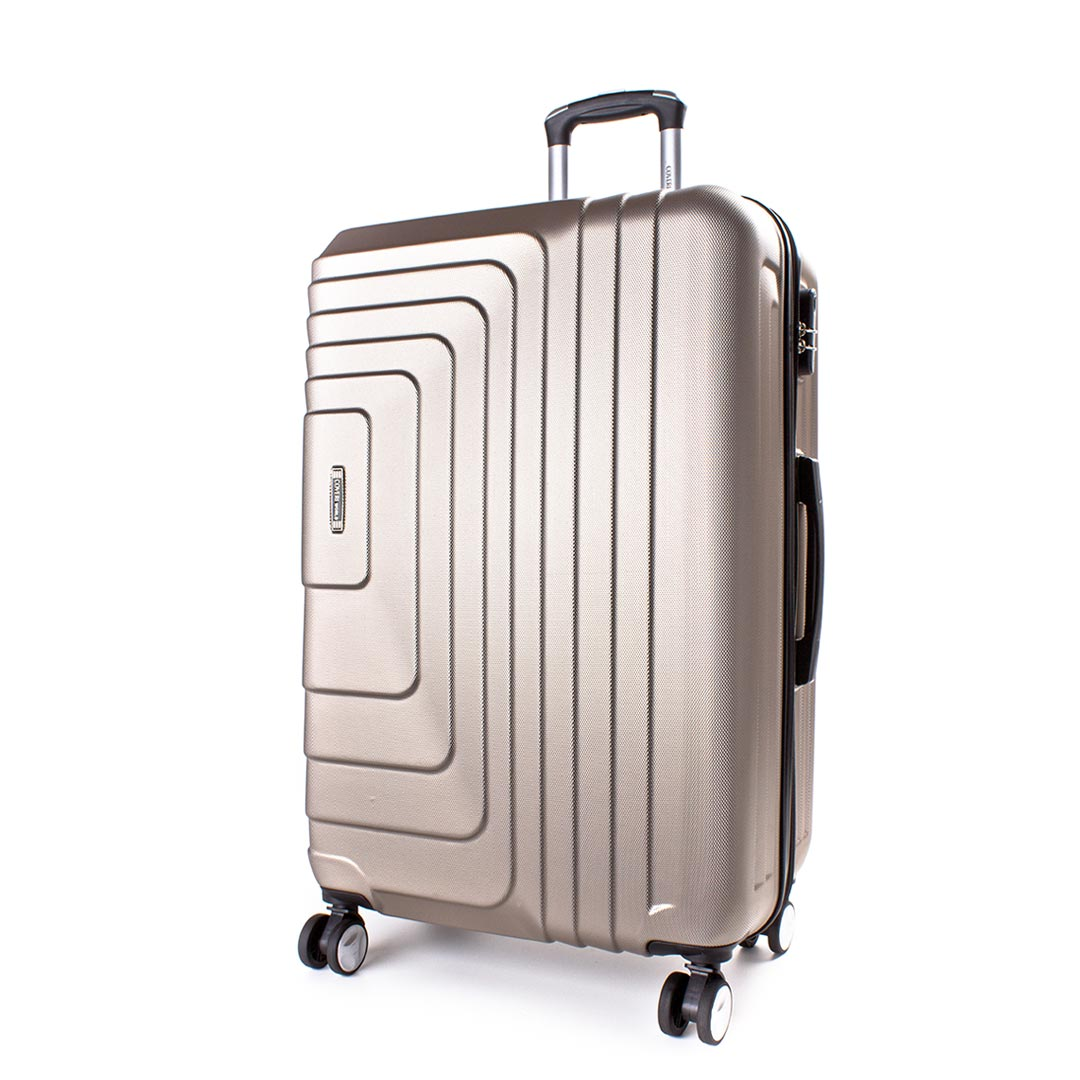 Hardside travelling luggage medium Coveri World | Style