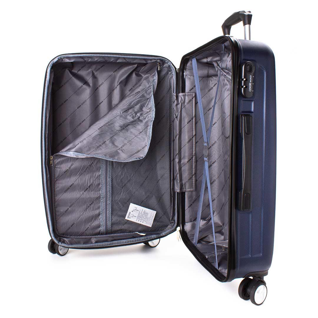Hardside travelling luggage large Coveri World | Style