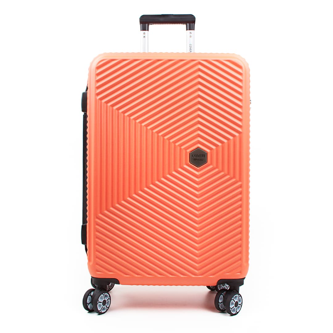 Hardside travelling luggage medium Coveri World | Voyage