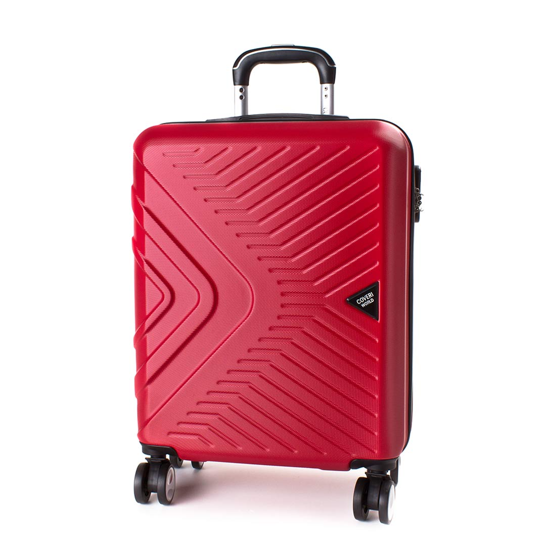 Hardside travelling luggage medium Coveri World | Best