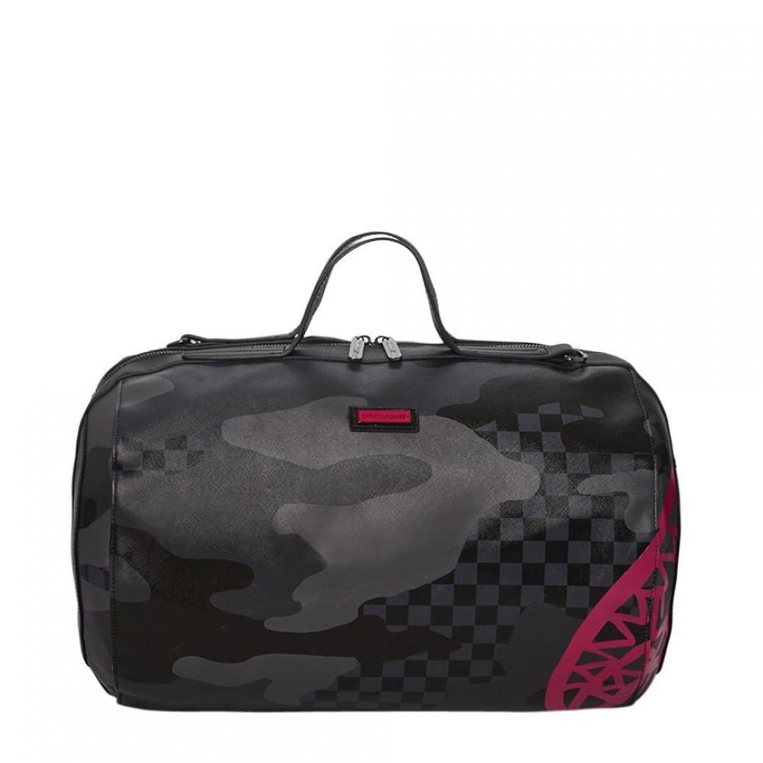 Travel bag Sprayground | 3 AM Pink Shark Tube Duffle