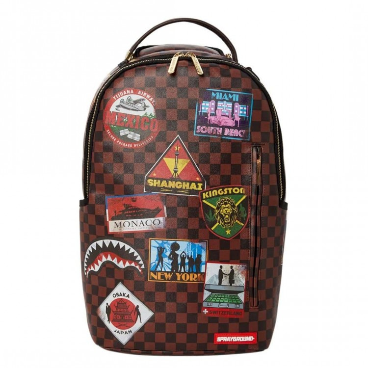 Backpack Sprayground | Travel Patches