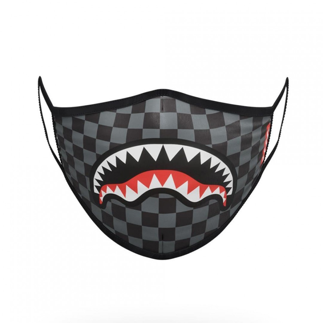 Schutzmaske Sprayground | Checkered Shark