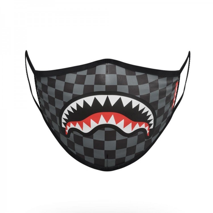 Zaštitna maska Sprayground | Checkered Shark