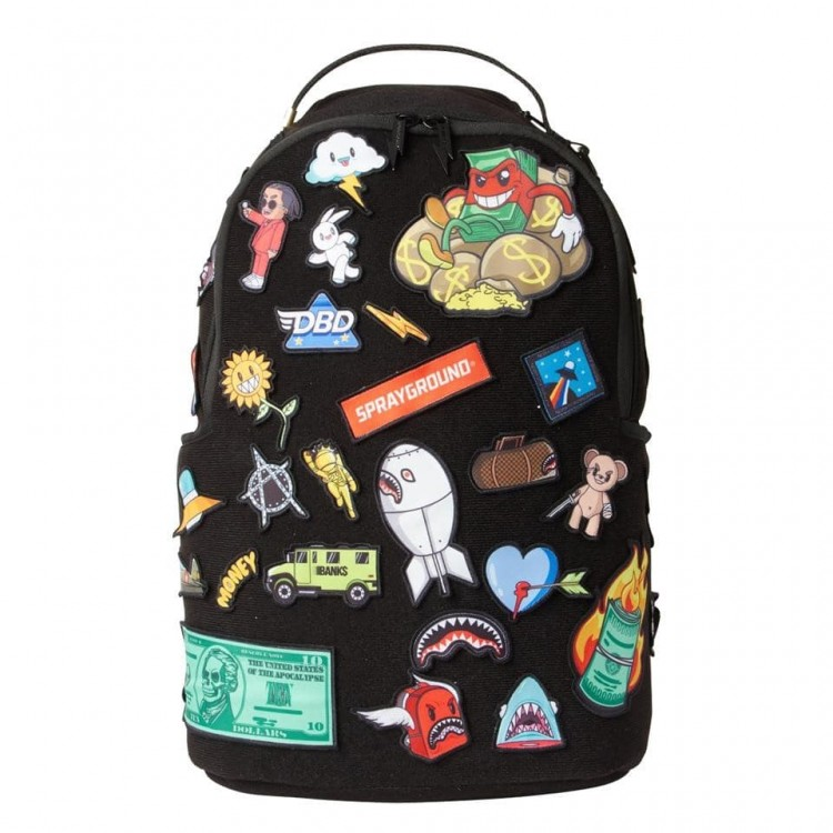 Backpack Sprayground | Patches On Patches