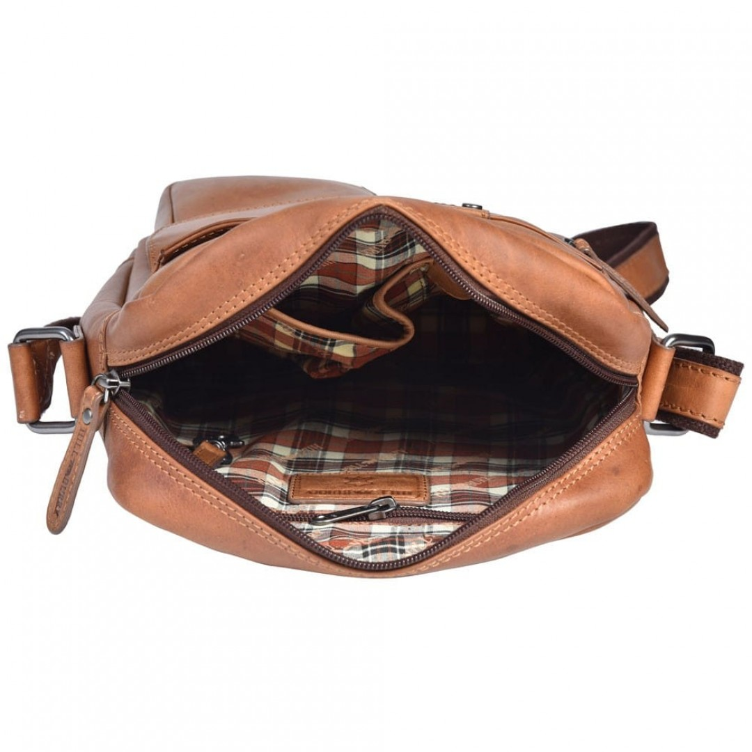 Leather shoulder bag Hill Burry | Tommy