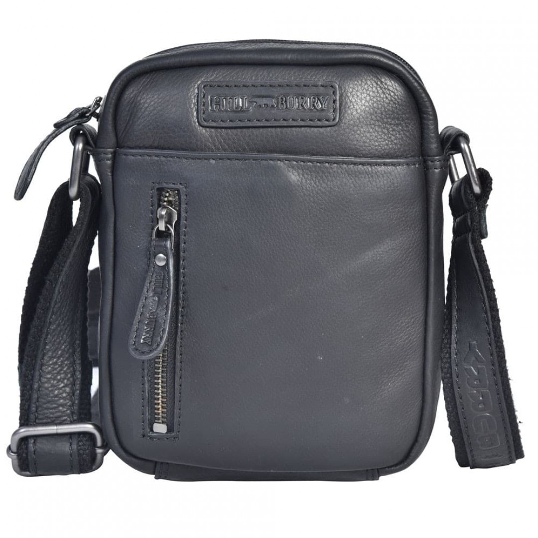 Leather shoulder bag Hill Burry | Hilly
