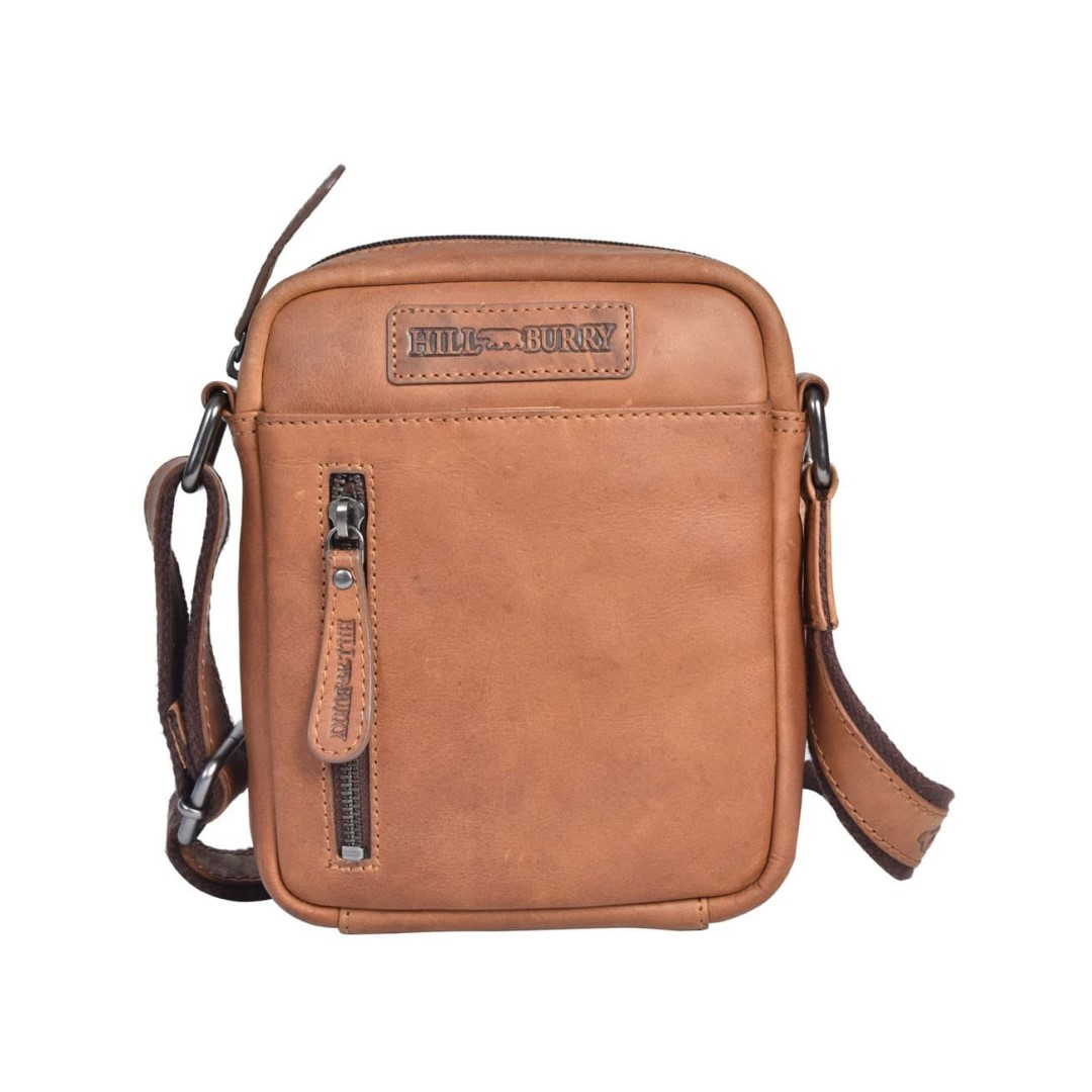 Leather shoulder bag Hill Burry | Hilly