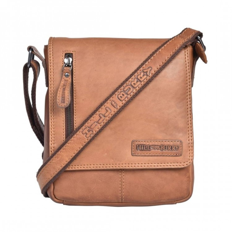 Leather shoulder bag Hill Burry | Clain