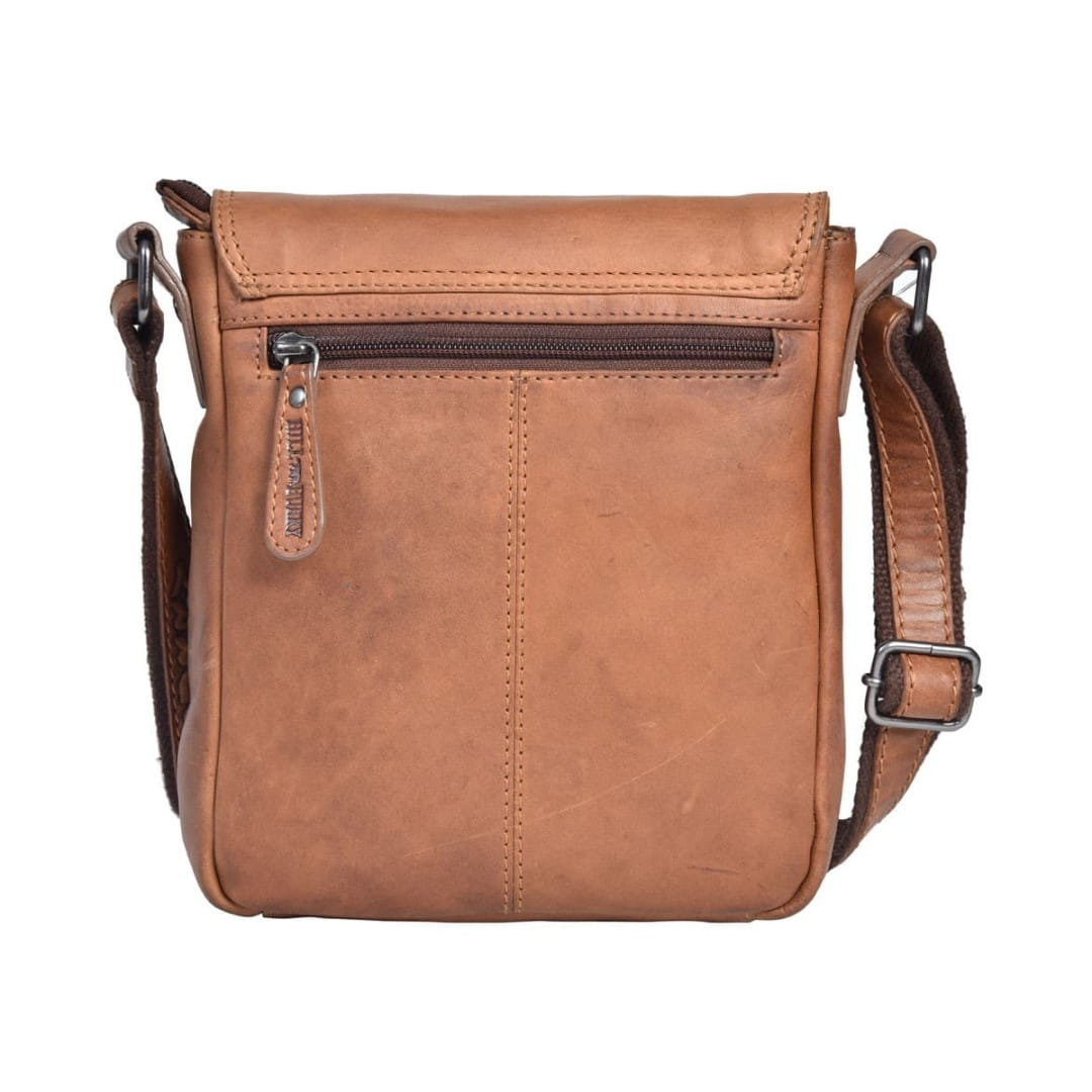 Kožna torba preko ramena Hill Burry | Clain