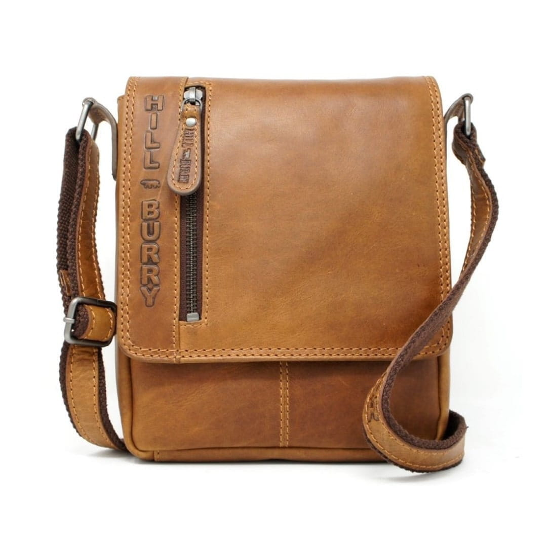 Leather shoulder bag Hill Burry | Comfort