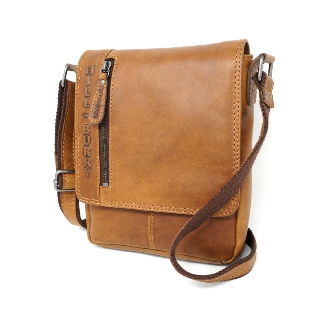 Leather shoulder bag Hill Burry | Comfort