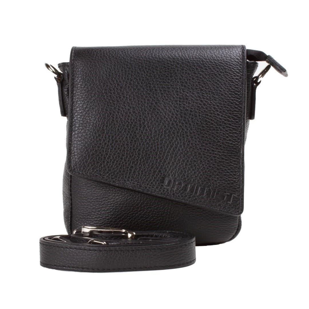 Leather shoulder bag Optimist | Calvin