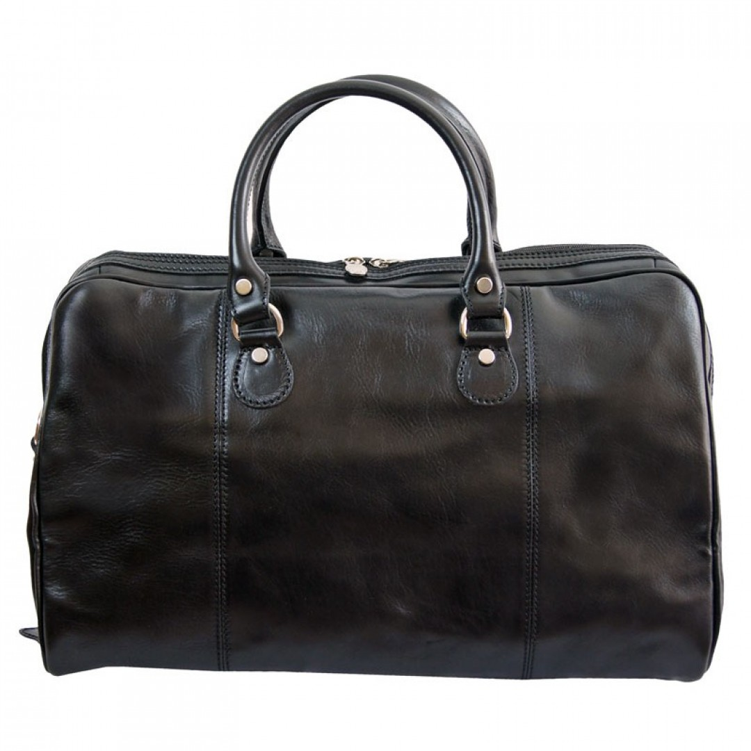 Leather Travel bag Optimist | Rock