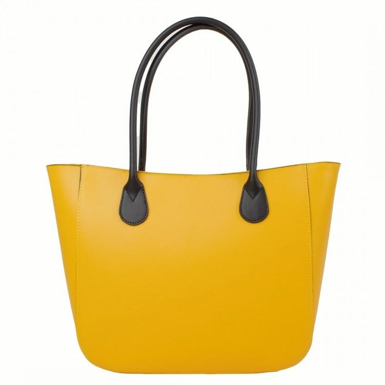 Damen Leder Handtasche Optimist | Kors