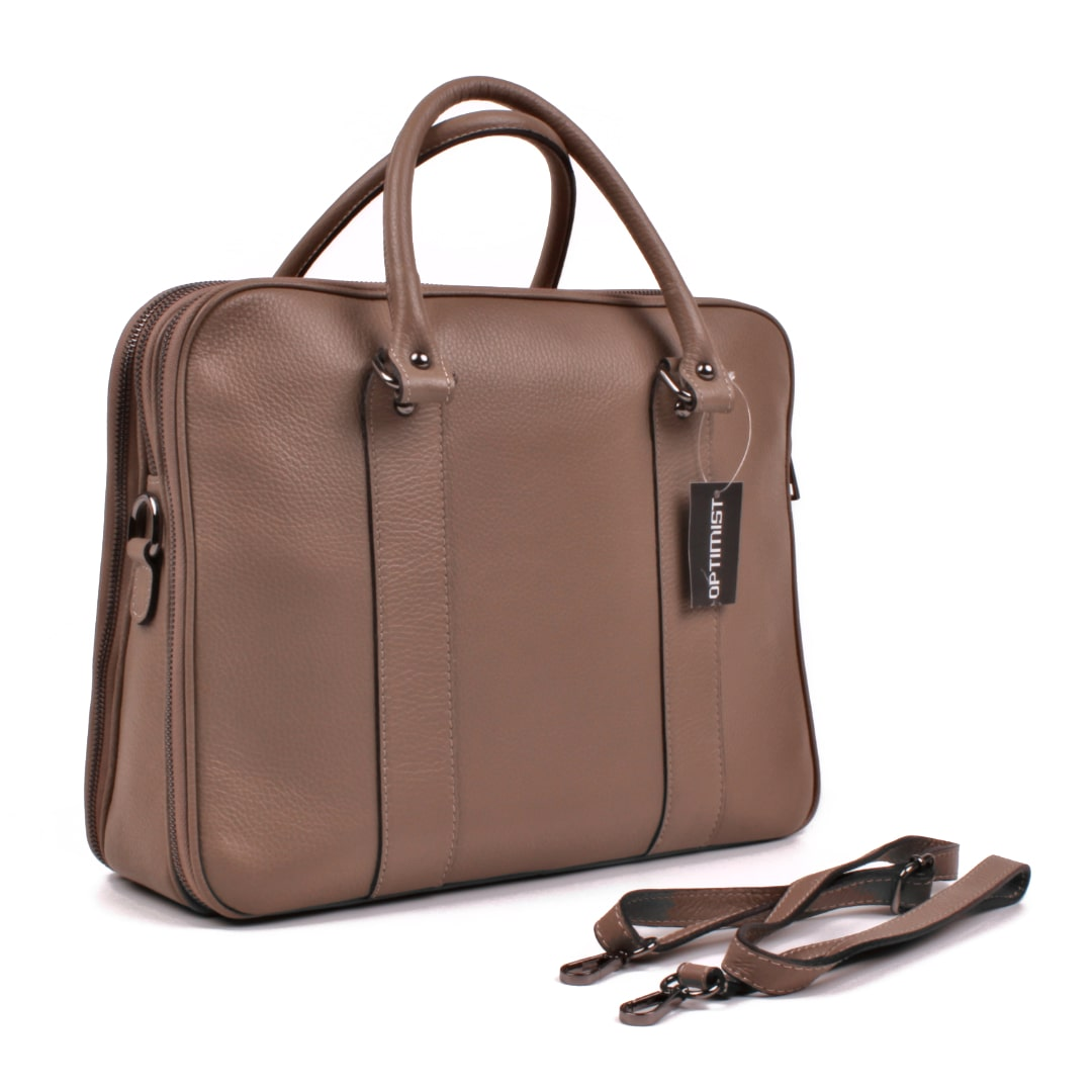 Ladies  leather business bag Optimist | Emma