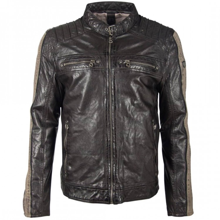 Men's leather jacket GIPSY | Brenton