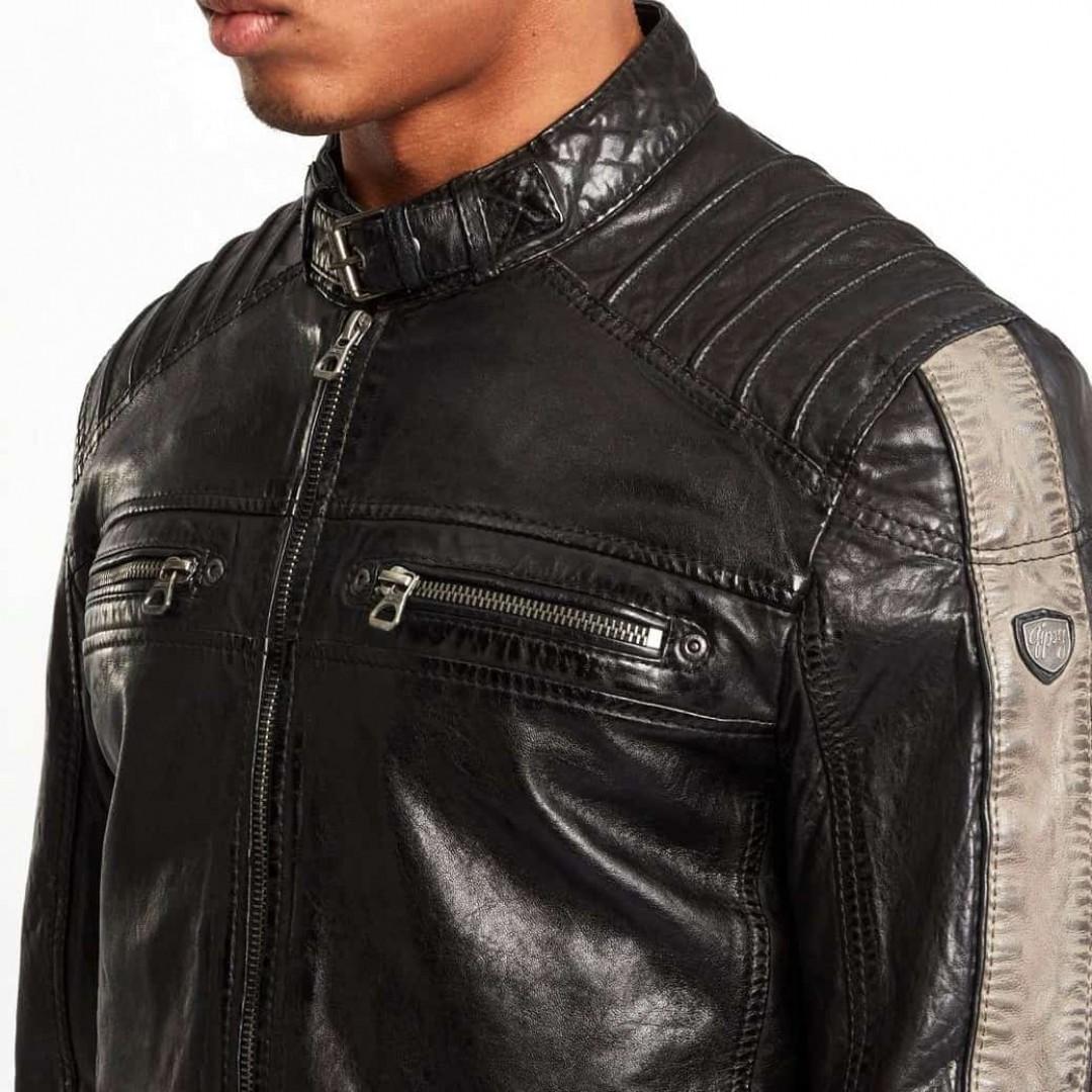 Men's leather jacket GIPSY | Brenton