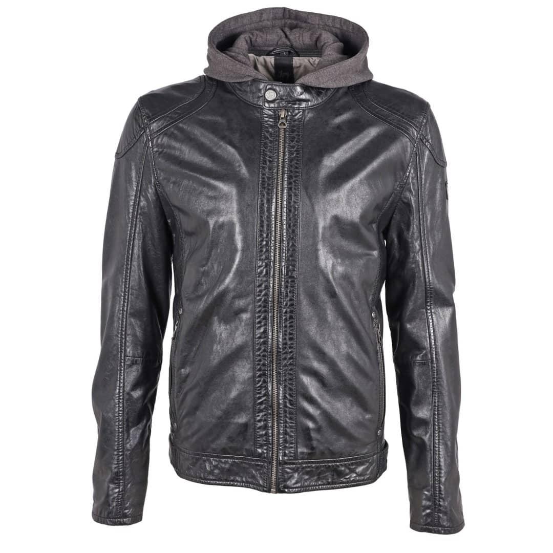 Men's leather jacket GIPSY | Darni