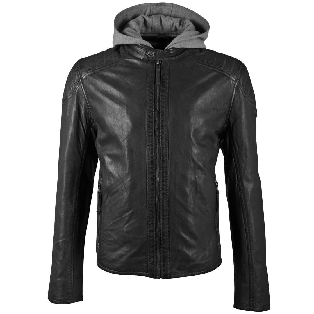 Men's leather jacket GIPSY | Flynt
