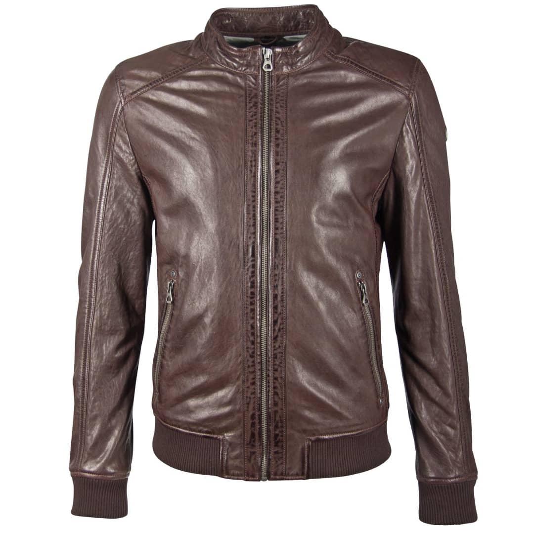 Men's leather jacket GIPSY | Grahan