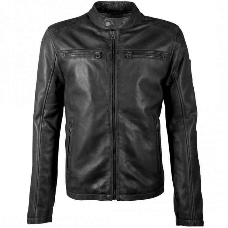 Men's leather jacket GIPSY | Jon