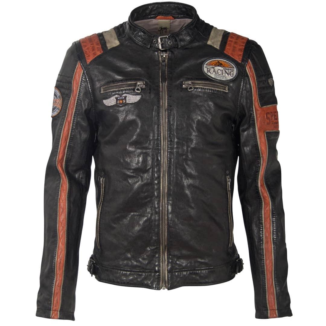 Men's leather jacket GIPSY | Nasdo