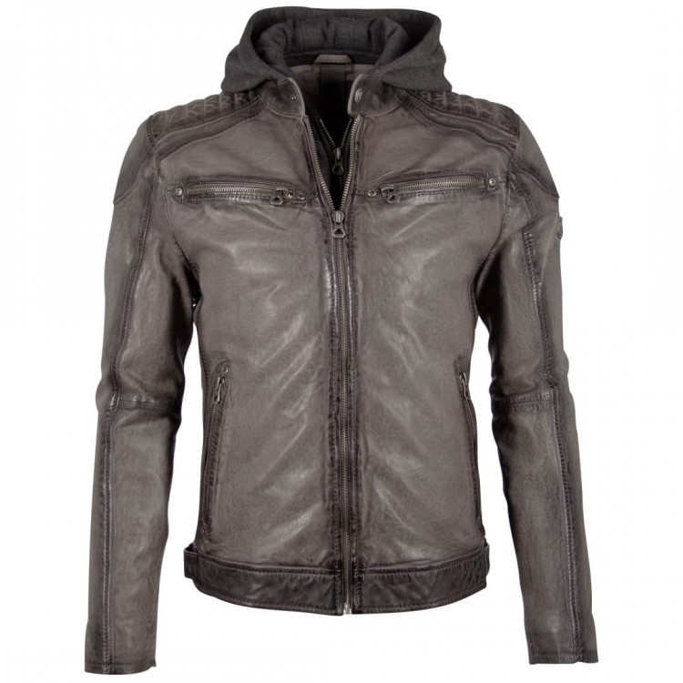 Men's leather jacket GIPSY | Vinn