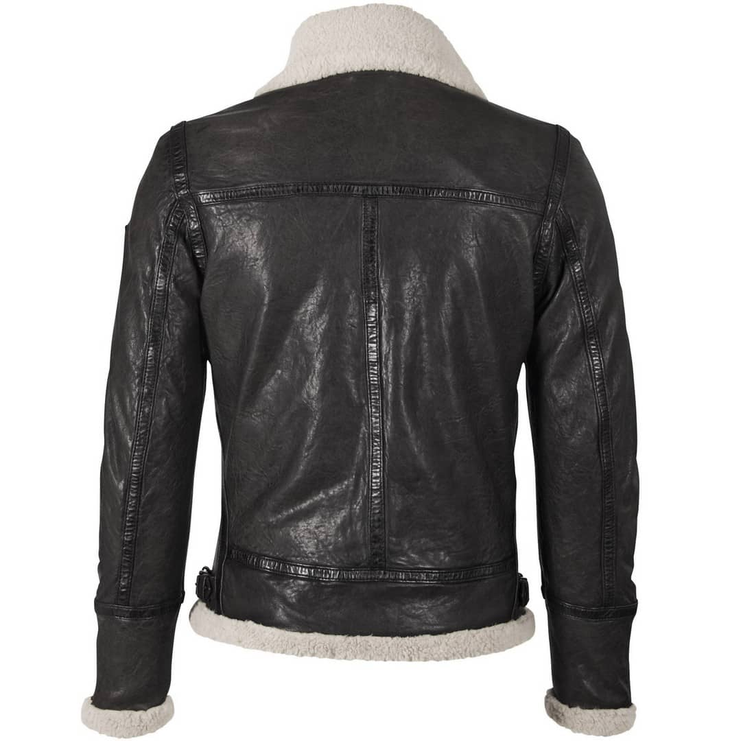 Men's leather jacket GIPSY | Airforce