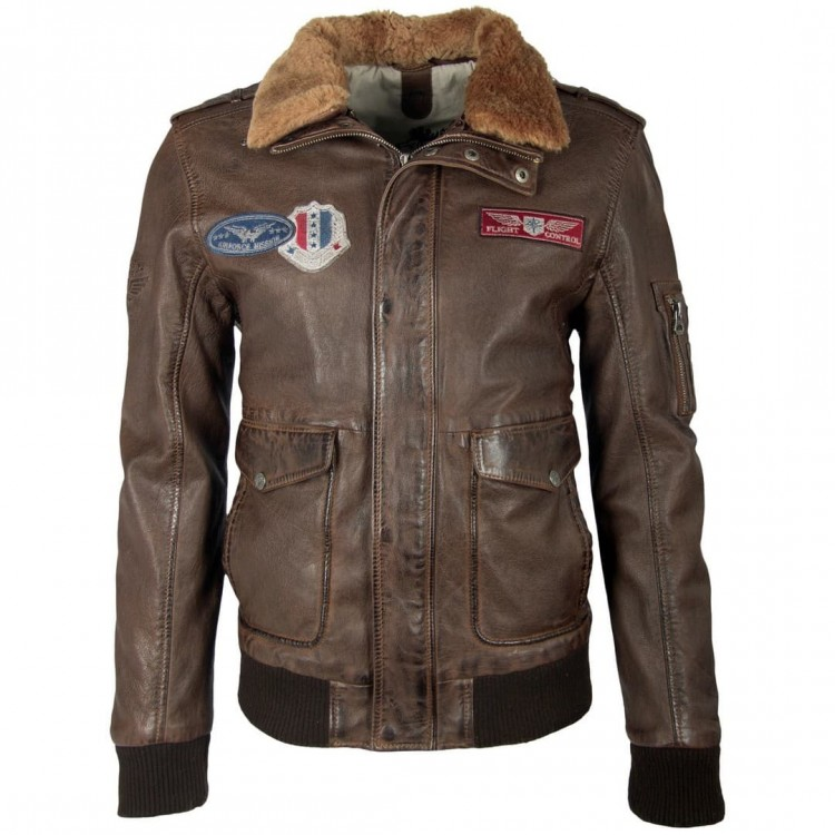Men's leather jacket GIPSY | Cruise