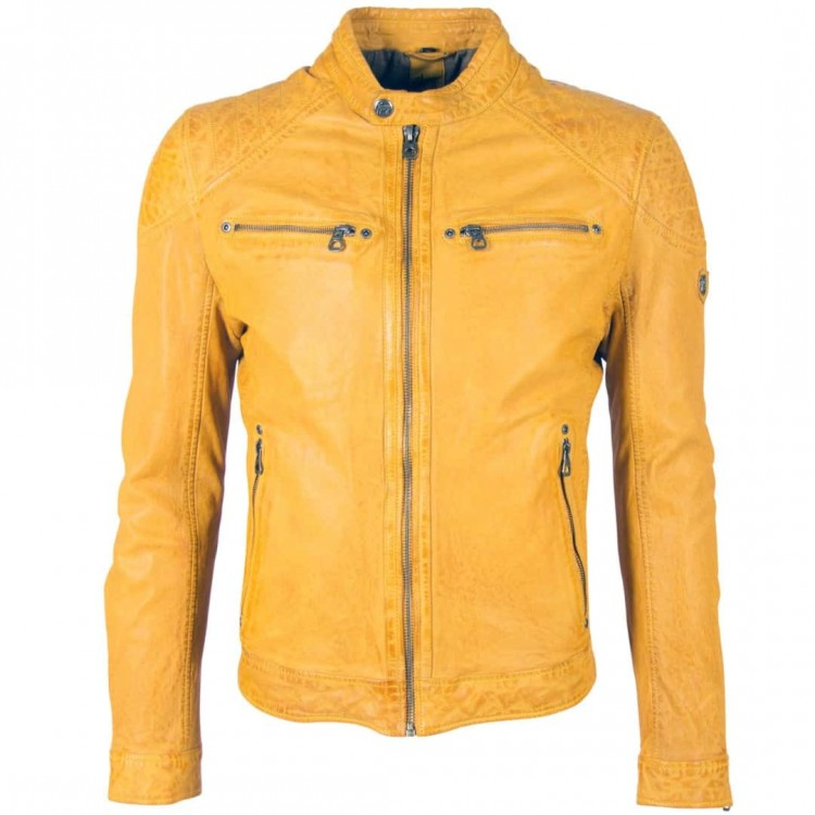 Men's leather jacket Gipsy | Gorey