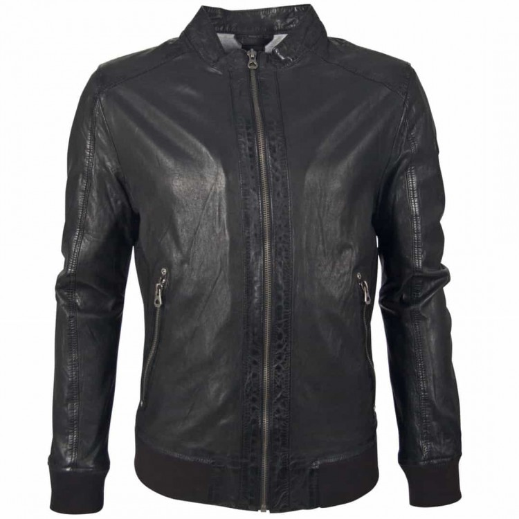 Men's leather jacket GIPSY | Grahan