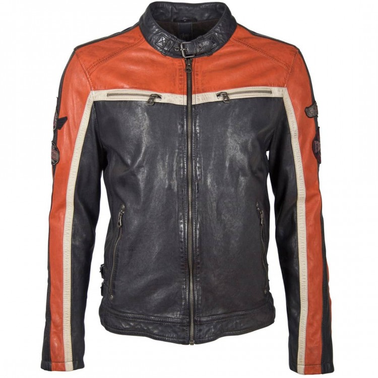 Men's leather jacket GIPSY | Myles