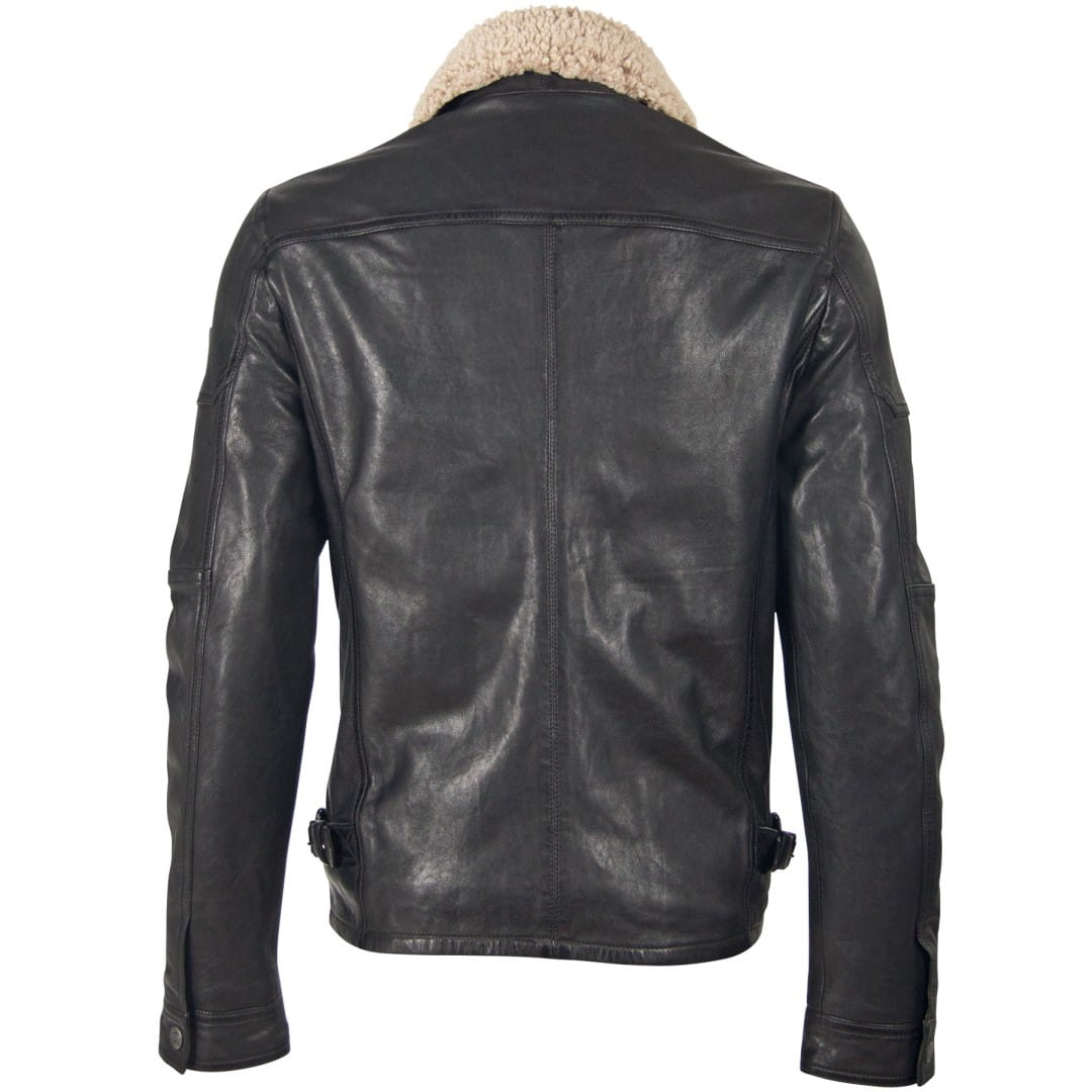 Men's leather jacket GIPSY | Ove