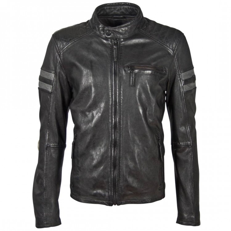 Men's leather jacket GIPSY | Riccy