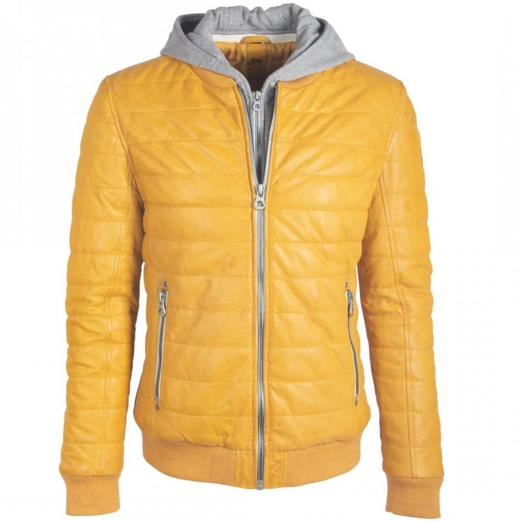 Muška kožna jakna GIPSY | Santon