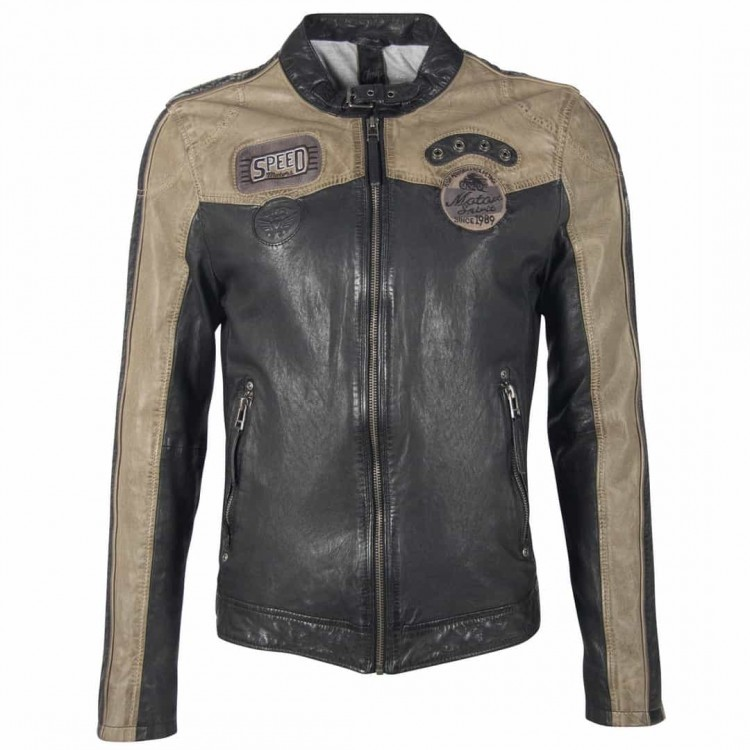 Men's leather jacket GIPSY | Troon