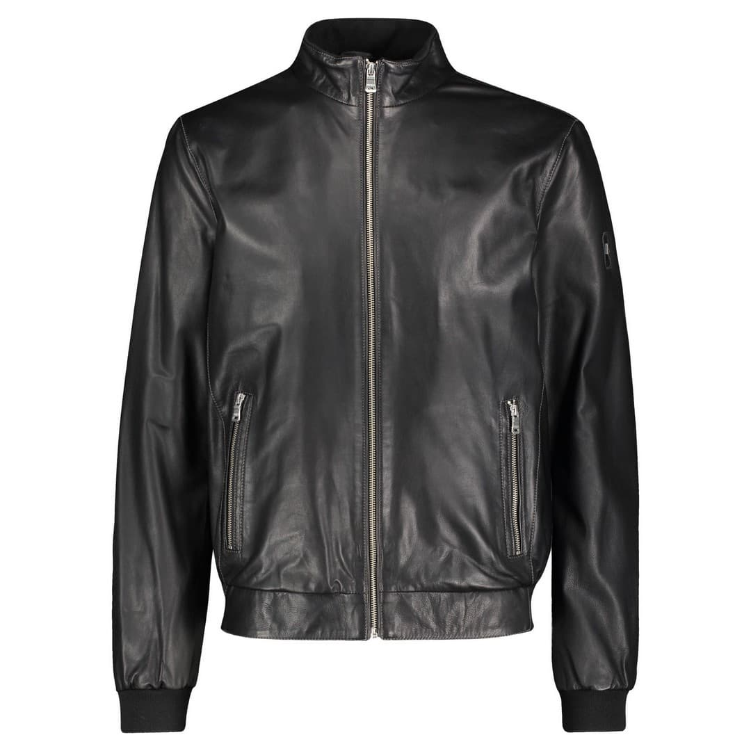 Men's leather jacket MILESTONE | Manilo