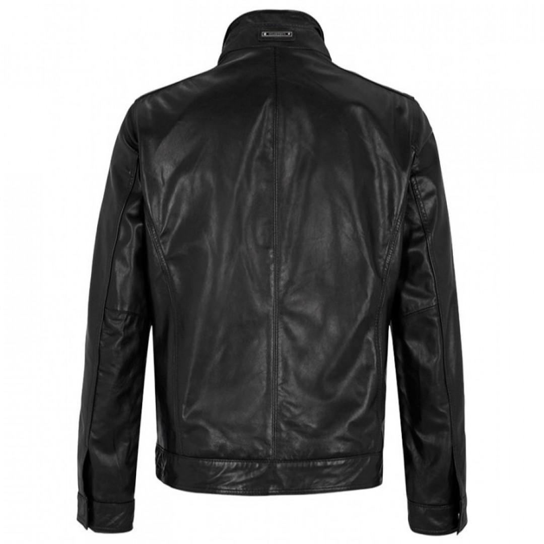 Men's leather jacket MILESTONE | Paco